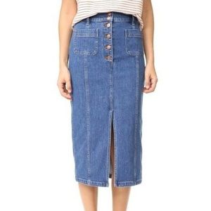 ✨NWOT, Madewell Denim Skirt, sz. 28